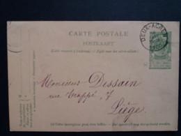Belgique  Oblitération Deux Acren Sur EP N°27 - AK [1871-09]
