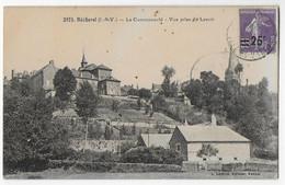Cpa Bon Etat ,  Bécherel , La Communauté , Vue Prise Du Lavoir, Timbre Courrier Au Verso - Bécherel