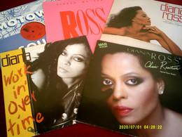 Collection De 12   Vinyles Differents De DIANA ROSS //  8 ALBUMS 33 TOURS + 4 MAXIS 45 TOURS - Collezioni
