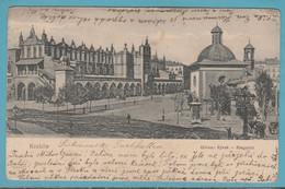 Krakow. Glówny Rynek - Ringplatz. 1909 - Poland