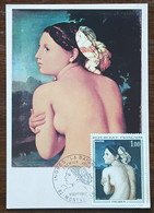 CM 1967 - YT N°1530 - INGRES / LA BAIGNEUSE - MONTAUBAN - 1960-69