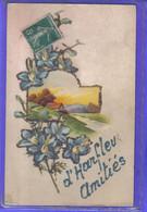 Carte Postale Fantaisie 76. Harfleur   Très Beau Plan - Harfleur