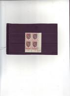 N° 1045 -70cBlason De La MARCHE - B De A+B 1° Tirage Du 4.10.55 Au 10.10.55 - 10.10.1955 - Dernier Jour - - 1950-1959