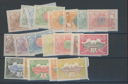 1902 Série  28/47 ** Cote 36,50 € - 1895-1913