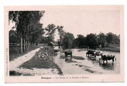 Carte Postale Ancienne - Non Circulé - Dép. 18 - BRINON SUR SAULDRE - Bords De La SAULDRE - Brinon-sur-Sauldre