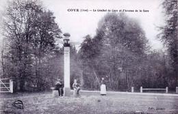 60 - Oise -  COYE La FORET - Le Crochet De Coye Et L Avenue De La Gare - Altri Comuni