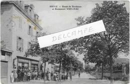 19 CORREZE BRIVE RESTAURANT VERLHAC Rte BORDEAUX PERSONNAGES ANIMATION JOLI PLAN - Brive La Gaillarde