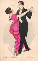 """¤¤  -  Illustrateur """" FABIANO """"  -  Le Tango Brésilien  -  Un Couple De Danseur   -  ¤¤ - Fabiano"""