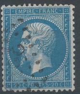 Lot N°61968   N°22, Oblitéré GC 3350 Seclin, Nord (57) ???? - 1862 Napoléon III