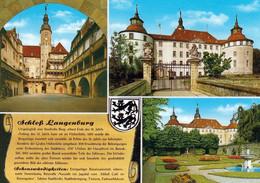 1 AK Germany / Baden-Württemberg * Chronikkarte Vom Schloss In Langenburg Im Hohenlohner Land - Mit Wappen* - Sonstige