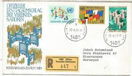 ONU WIEN NACIONES UNIDAS FDC 1978 - Sonstige