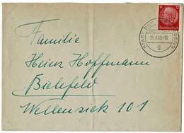"""1940, Selt. Stp. """" Stadt Des KDF - Wagens """",  A 5295 - Brieven En Documenten"""