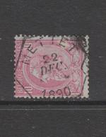 COB 46 Oblitération Centrale Télégraphe METTET - 1884-1891 Leopold II