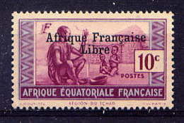 AEF  - 160** - REGION DU TCHAD / AFRIQUE FRANCAISE LIBRE - Ungebraucht