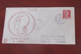 France  1955    FDC   Philatec - 1950-1959