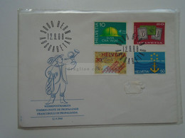 D182210    SWITZERLAND   FDC    1968 FDC - 3000 BERN AUSGABETAG - Covers & Documents