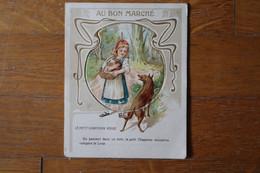 Chromo Ancien à Système AU BON MARCHE  Le Petit Chaperon Rouge    Lot 129 - Au Bon Marché