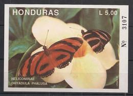 Honduras - 1992 - Bloc Feuillet BF N°Yv. 48 - Papillon / Butterfly - Neuf Luxe ** / MNH / Postfrisch - Schmetterlinge