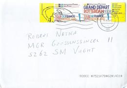 Nederland Brief Met NVPHno.2720-2722 Samenhangend Afgestempeld In Rotterdam 11-XI-20 (2794) - Covers & Documents