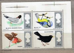GB QEII 1966 Fauna Birds MNH(**) Mi 425-428 #30376 - Neufs