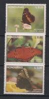 Honduras - 1992 - N°Yv. 287 à 289 - Papillon / Butterfly - Neuf Luxe ** / MNH / Postfrisch - Schmetterlinge