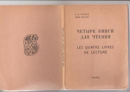 Livre Franco-russe Tolstoi - Slav Languages