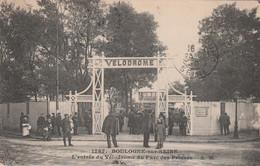 CPA (92) BOULOGNE Sur SEINE L' Entrée Du Vélodrome Du Parc Des Princes Cycling Radsport T  2 Scans - Other Municipalities