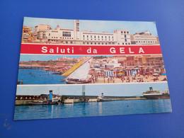 CARTOLINA SALUTI DA GELA-VIAGGIATA 1971 - Gela