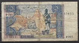 Algérie Billet De 5 Dinars 1-11-1970 - Algérie