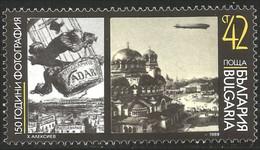 230 Bulgarie Photographie Vadar Ballon Zeppelin Photography MNH ** Neuf SC (BUL-281) - Photography