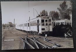 Gooik Foto Leerbeek Station 5/06/1953 - Gooik