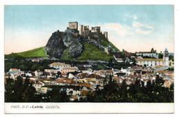 Portugal-- LEIRIA ---  Castello  ......carte Colorisée ............à Saisir - Leiria