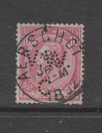 COB 46 Oblitération Centrale AERSCHOT - 1884-1891 Leopold II