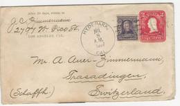 Sc U395 + 302 O Hydepark 1907 To Switzerland - Sin Clasificación