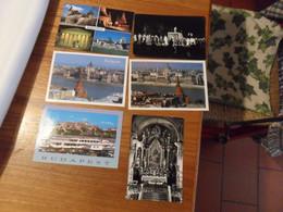 6 Cartoline UNGHERIA  Diverse - Ungheria