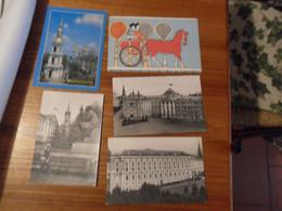 5 Cartoline  RUSSIA  Diverse - Russia