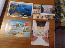 4 Cartoline  EUROPA EST  Diverse - Non Classificati