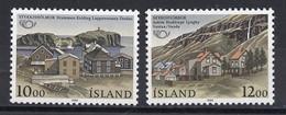 Islande - Island - Iceland 1986 Y&T N°603 à 604 - Michel N°650 à 651 *** - Norden 1986 - Ongebruikt
