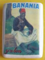Fève Clamecy - Affiche De Chocolat  -  Banania  Ya Bon - Personen