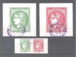 France Oblitérés :  N°5450 à 5453 (Cérès De Bordeaux 1870) (cachet Rond) - Used Stamps
