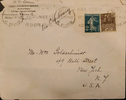 J) 1931 FRANCE, THE SHOWER, INTERNATIONAL COLONIAL EXHIBITION, MULTIPLE STAMPS, AIRMAIL, CIRCULATED COVER, FROM FRANCE T - Non Classificati