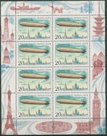 Sowjetunion 1991 Luftfahrt Luftschiffe Zeppelin 6220 K Postfrisch (C94842) - Blocks & Sheetlets & Panes