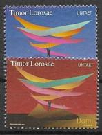 East Timor Mnh ** 2000  20 Euros UN Stamps - East Timor