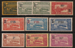 Guadeloupe - 1924-27 - N°Yv. 89 à 98 - Série Complète - Neuf Luxe ** / MNH / Postfrisch - Unused Stamps