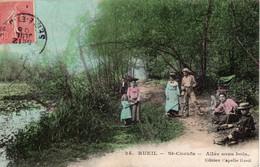 RUEIL - St-Cucufa - Allée Sous Bois - Rueil Malmaison