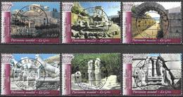 United Nations UNO UN Vereinte Nationen Geneva Genf 2004 Unesco Heritage Greece Michel 497-502 Used Gest. Oblitéré - Gebraucht