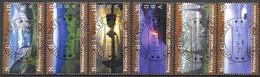 United Nations UNO UN Vereinte Nationen Geneva Genf 2003 Unesco Heritage USA Etats Uni Michel 475-80 Used Gest. Oblitéré - Gebraucht