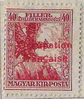 FD(b) Arad ( Hongrie) Occupation Française / Hungary * (MH )  1919 N 3 Mauvais Centrage - Unused Stamps