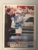 Aitutaki 1998 Death Of Princess Diana (1997) Mi Bloc 81 MNH(**) - Aitutaki