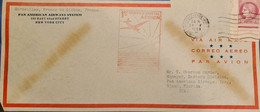 J) 1939 FRANCE, MARIANNE, PANAMERICAN AIRWAYS SYSTEM, FIRST DAY COVER, AIRMAIL, CIRCULATED COVER, FROM FRANCE TO USA - Non Classificati